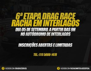 Drag Race | Racha Interlagos - 6ª Etapa