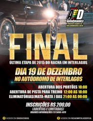 Drag Race | Racha Interlagos - 7ª Etapa