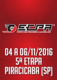 Campeonato ECPA de Arrancada 2016 - 5ª Etapa - 04/11/2016 a 06/11/2016 - Esporte Clube Piracicabano de Automobilismo ECPA - Piracicaba - SP - 201 Metros