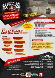 Campeonato Arena Race de Arrancada 2016 - 4ª Etapa - 28/10/2016 a 30/10/2016 - Arena Race - Uberlândia - MG - 201 Metros