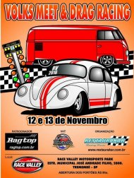 Volks Meet Drag Racing 2016 | Arrancada de Fuscas - 12/11/2016 a 13/11/2016 - Race Valley Motorsports Park - Tremembé - SP - 201 Metros