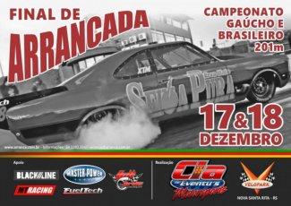Campeonato Gaúcho de Arrancada 2016 - Final - 17/12/2016 a 18/12/2016 - Autódromo do Velopark - Nova Santa Rita - RS - 201 Metros