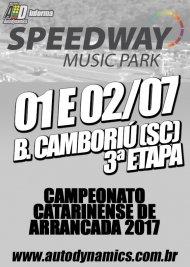 Campeonato Catarinense de Arrancada 2017 - 3ª Etapa - 01/07/2017 a 02/07/2017 - Speedway M. Park - Balneário Camboriú - SC - 201 Metros