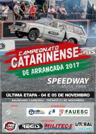 Campeonato Catarinense de Arrancada 2017 - Final