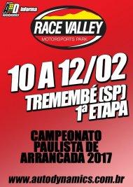 Campeonato Paulista de Arrancada 2017 - 1ª Etapa - 10/02/2017 a 12/02/2017 - Race Valley Motorsports Park - Tremembé - SP - 201 Metros