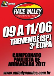 Campeonato Paulista de Arrancada 2017 - 3ª Etapa - 09/06/2017 a 11/06/2017 - Race Valley Motorsports Park - Tremembé - SP - 201 Metros