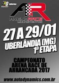 Campeonato Arena Race de Arrancada 2017 - 1ª Etapa - 27/01/2017 a 29/01/2017 - Arena Race - Uberlândia - MG - 201 Metros