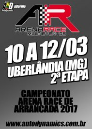 Campeonato Arena Race de Arrancada 2017 - 2ª Etapa - 10/03/2017 a 12/03/2017 - Arena Race - Uberlândia - MG - 201 Metros