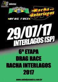 Drag Race / Racha Interlagos 2017 - 6ª Etapa - 29/07/2017 - Autódromo de Interlagos - SP - 201 Metros
