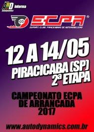 Campeonato ECPA de Arrancada 2017 - 2ª Etapa - 12/05/2017 a 14/05/2017 - Esporte Clube Piracicabano de Automobilismo ECPA - Piracicaba - SP - 201 Metros