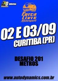 Desafio 201 Metros - 3ª Etapa - 02/09/2017 a 03/09/2017 - Autódromo Internacional de Curitiba - AIC - Pinhais - PR