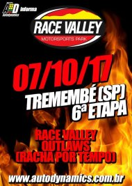 Race Valley Outlaws 2017 - 6ª Edição - 07/10/2017 - Race Valley Motorsports Park - Tremembé - SP - 201 Metros
