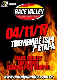 Race Valley Outlaws 2017 - 7ª Edição - 04/11/2017 - Race Valley Motorsports Park - Tremembé - SP - 201 Metros