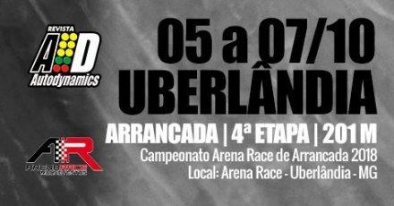 Campeonato Arena Race de Arrancada 2018 - 4ª Etapa - 05/10/2018 a 07/10/2018 - Arena Race - Uberlândia - MG - 201 Metros