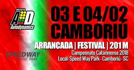 Festival Speed Way de Arrancada 2018