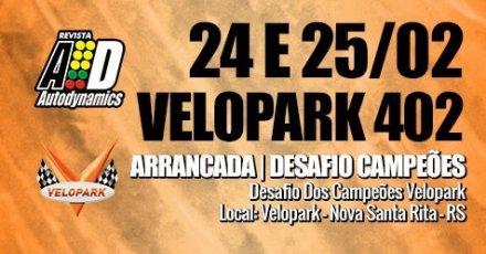 Desafio dos Campeões Velopark - 24/02/2018 a 25/02/2018 - Autódromo do Velopark - Nova Santa Rita - RS - 402 Metros
