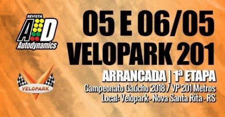 Campeonato Gaúcho de Arrancada 2018 - VP 201 Metros - 1ª Etapa - 05/05/2018 a 06/05/2018 - Autódromo do Velopark - Nova Santa Rita - RS - 201 Metros