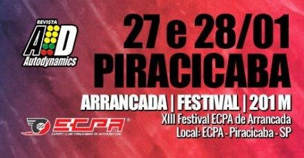 XIII Festival ECPA de Arrancada 2018 - 27/01/2018 a 28/01/2018 - Esporte Clube Piracicabano de Automobilismo ECPA - Piracicaba - SP - 201 Metros