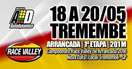 Campeonato Race Valley de Arrancada 2018 - 1ª Etapa