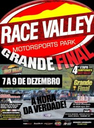 Campeonato Race Valley de Arrancada 2018 - 4ª Etapa - 07/12/2018 a 09/12/2018 - Race Valley - Tremembé - SP - 201 Metros