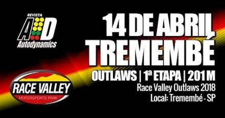 Race Valley Outlaws 2018 - 1ª Etapa - Reinauguração da Pista - 14/04/2018 - Race Valley - Tremembé - SP - 201 Metros