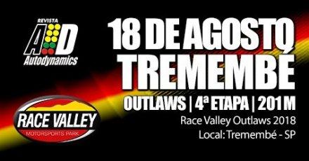 Race Valley Outlaws 2018 - 4ª Etapa - 18/08/2018 - Race Valley - Tremembé - SP - 201 Metros