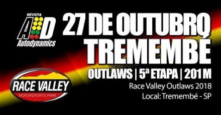 Race Valley Outlaws 2018 - 5ª Etapa - 27/10/2018 - Race Valley - Tremembé - SP - 201 Metros