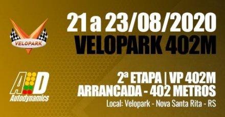 VP Series 402 Metros 2020 - 2ª Etapa - 21/08/2020 a 23/08/2020 - Autódromo do Velopark - Nova Santa Rita - RS - 402 Metros