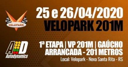 VP 201M / Campeonato Gaúcho de Arrancada 2020 - 1ª Etapa - 25/04/2020 a 26/04/2020 - Autódromo do Velopark - Nova Santa Rita - RS - 201 Metros