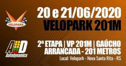 VP 201M / Campeonato Gaúcho de Arrancada 2020 - 2ª Etapa - 20/06/2020 a 21/06/2020 - Autódromo do Velopark - Nova Santa Rita - RS - 201 Metros