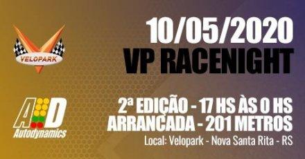 Velopark Race Night - 2ª Edição 2020 - 10/05/2020 - Autódromo do Velopark - Nova Santa Rita - RS - 201 Metros
