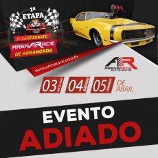 Campeonato Arena Race de Arrancada 2020 - 1ª Etapa - 03/04/2020 a 05/04/2020 - Arena Race - Uberlândia - MG - 201 Metros