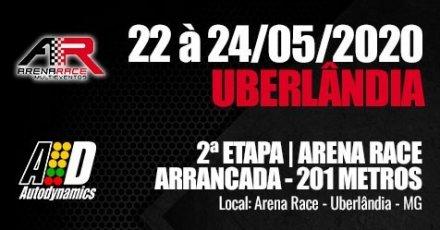 Campeonato Arena Race de Arrancada 2020 - 2ª Etapa - 22/05/2020 a 24/05/2020 - Arena Race - Uberlândia - MG - 201 Metros