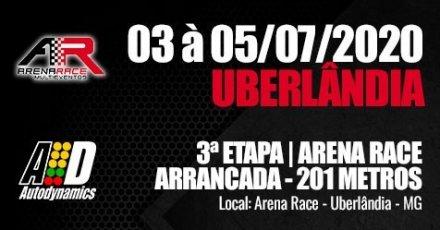 Campeonato Arena Race de Arrancada 2020 - 3ª Etapa - 03/07/2020 a 05/07/2020 - Arena Race - Uberlândia - MG - 201 Metros