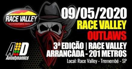 Race Valley Outlaws 2020 - 3ª Etapa - 09/05/2020 - Race Valley - Tremembé - SP - 201 Metros