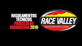 ARRANCADA: PAULISTA 2019 - RACE VALLEY - REGULAMENTOS TÉCNICOS
