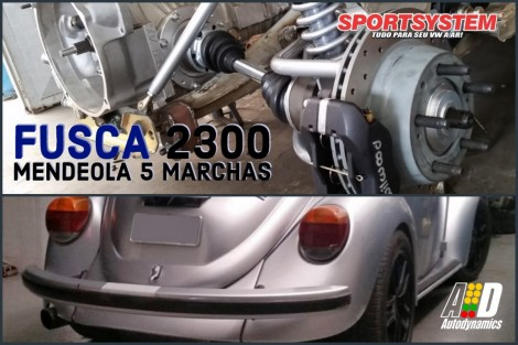 FUSCA 5 MARCHAS MENDEOLA BLOCO PAUTER BY SPORTSYSTEM